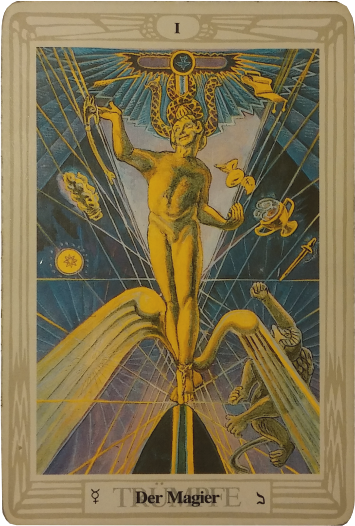 Tarotkarte Der Magier
